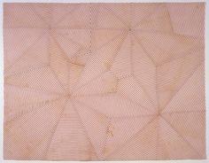 Untitled, Louise Bourgeois. 2005.  Fabric.  60.9 x 78.7 cm