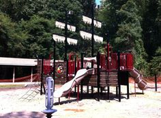 Pirate Ship playground in Broadneck