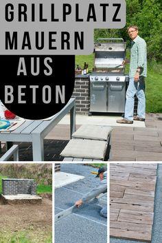 Grillkamin bauen diese tipps werden sie bei der planung unterstutzen  Grill-Spaß im Garten (Anleitung: http://selbermachen.de/garten ...