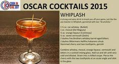Oscar Cocktails: Whiplash (recipe card)