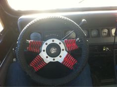 Paracord steering weel wrap