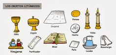 Objetos litúrgicos (color)
