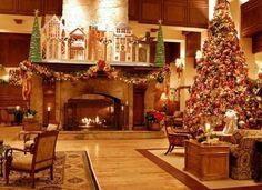 10 Hotels with Over-the-Top Christmas Decorations
