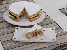Recetas | Torta merengada de limón y frutos rojos | FOXlife.tv | Osvaldo Gross