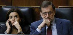"""El PSOE pide derogar la """"ley mordaza"""" y Rajoy cree que es una """"broma"""" hablar de ausencia de libertades en España  Hernando dice que es una ..."""