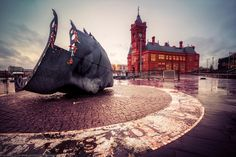 Rainy Day at Cardiff Bay, Cardiff, Wales by Joe Daniel Price on 500px
