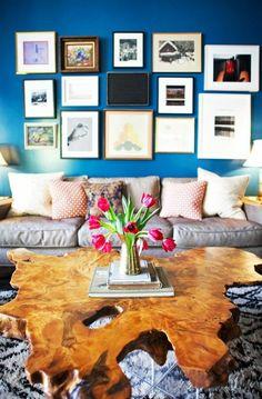 tolle wandgestaltung wohnideen wandfarben bilderrahmen