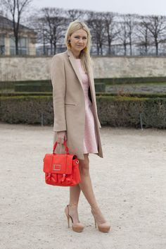 Paris Fashion Week Street Style Fall 2012  Silje Peterson  Source: Getty