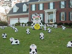 Lawn Ornaments Holy Cow Whoever Betty Is Shes 50 Hope She Likes Cows Birthday