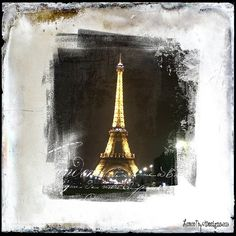 Grunge Paris by Christy using a texture from the Glorious Grunge collection and the free photo mask from French Kiss Collections. Paris Night, French Kiss, Night Time, Fine Art Photography, My Images, Free Photos, Design Elements, Grunge, Photographs