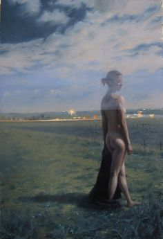 """Andrea T. Kemp """"Time Lapse"""" x Oil on Board Catching Fireflies, Chasing Fireflies, Different Media, Magazine Articles, Community Events, Famous Women, Local Artists, American Art, My Arts"""