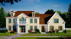 Plan 42408DB: Beautifully Proportioned
