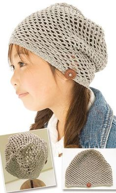 free #crochet #hat pattern from the CrochetHappy website