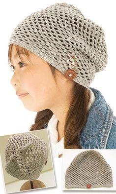 free #crochet #hat pattern from the CrochetHappy website