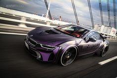 """BMW EVO i8 """"Dark Knight"""" Edition is the Batmobile we all want - http://www.bmwblog.com/2017/02/28/bmw-evo-i8-dark-knight-edition-batcar-want/"""
