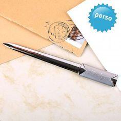 #design3000 Personalisierbarer Brieföffner mit Namensgravur.