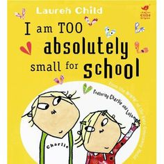 Great book list - all about starting school