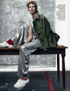Stella Tennant - Vogue Magazine Pictorial [United Kingdom] (July 2015)