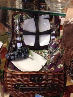 Picnic baskets !   Great wedding gifts !