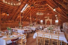 Tarureka Estate. Wedding reception barn style