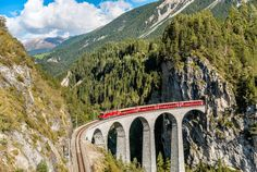 Here Are 16 of the Best Train Trips in the World Swiss Rail, Travel Agency, Alaska, Journey, Travel Destinations, Usa, Train, Vehicles, Stuff To Buy