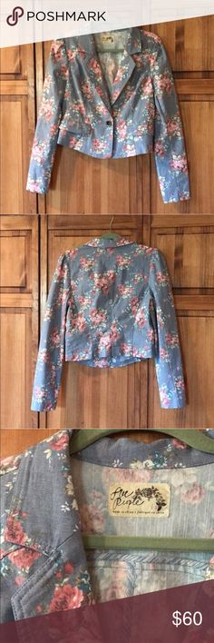 Spotted while shopping on Poshmark: Free people jacket! #poshmark #fashion #shopping #style #Free People #Jackets & Blazers