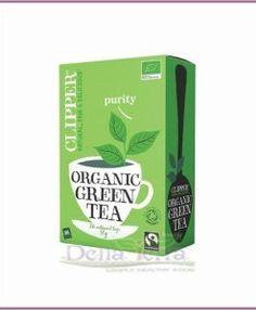 Té Verde Ecológico y de Comercio Justo Clipper