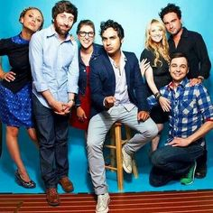 Oh look..The Bing Bang Theory cast.  :)