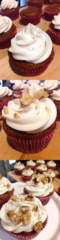 Enjoy this super soft and moist carrot cake cupcake with creamy cream cheese frosting. So simple to make too!