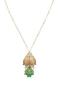 Angel Watch Necklace by SHARON KHAZZAM for Preorder on Moda Operandi