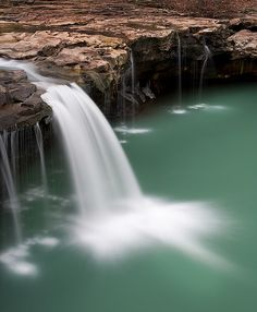 Waterfall near Ben Hur, Arkansas in the Ozark National Forest Oh The Places You'll Go, Places To Travel, Places To Visit, Vacation Destinations, Vacation Spots, Arkansas Vacations, Ozark National Forest, Les Cascades, Land Scape