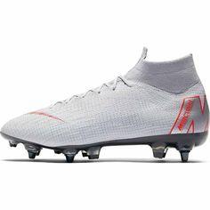 Ανδρικά Ποδοσφαιρικό παπούτσι για μαλακές επιφάνειες Nike Mercurial Superfly 360 Elite SG-PRO Anti-Clog - AH7366-060 Nike, Superfly, Cleats, Sports, Fashion, Football Soccer, Grey, Football Boots, Hs Sports