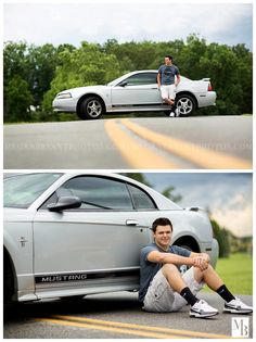 Senior Picture Ideas for Guys | Car | #seniorpictureideasforgirls