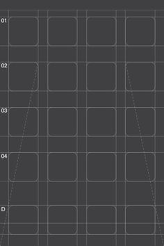 • iPhone IOS4 App Grid - Effektive® Design for Print, Screen & Environment