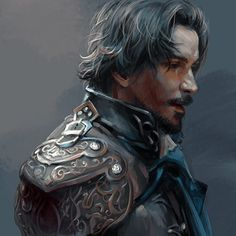 watercolour athos the musketeers art - Google Search