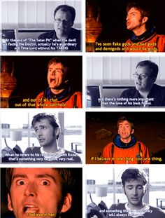 "RTD and David Tennant on the ""Satan Pit"" speech, best moments of who. One of my favorite moments."
