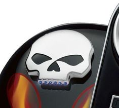 The Skull Collection from Harley features motorcycle engine trim accessories with attitude. Shop Skulls here. Harley Davidson Sportster 1200, Harley Davidson Museum, Harley Davidson Road Glide, Harley Davidson News, Harley Davidson Online Store, Softail Bobber, Road King Classic, Bike Style, Led