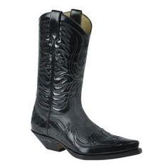 Sendra Boots 3241 Negro Westernstiefel - schwarz / black