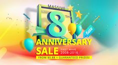 8th Anniversary Sale from Everbuying