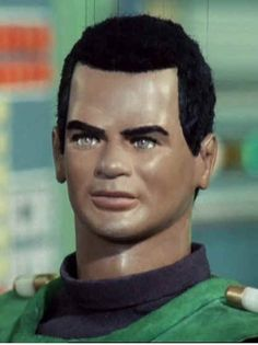 "Lt Green on ""Captain Scarlet"" (voiced by Calypso performer, Cy Town) http://www.imdb.com/name/nm0869983/"