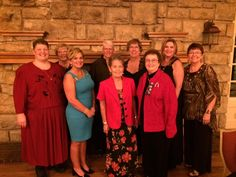Members of GFWC Nebraska at the Mississippi Valley Region Conference in Excelsior Springs, Missouri.
