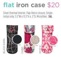 Flat iron case. Page 19 http://initials-inc.com/nmorgan