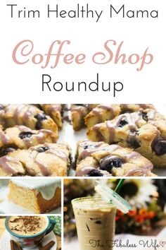 "Trim Healthy Mama Coffee Shop Roundup! ""As a coffee obsessed Mama, I so appreciate the creativity that went into these recipes. I've tried most of them and can vouch that they are just as good as my old sugary standbys!"" - Cate www.TrimHealthyMama.com"