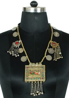 Antique Afghan Necklace Design 3 – Desically Ethnic