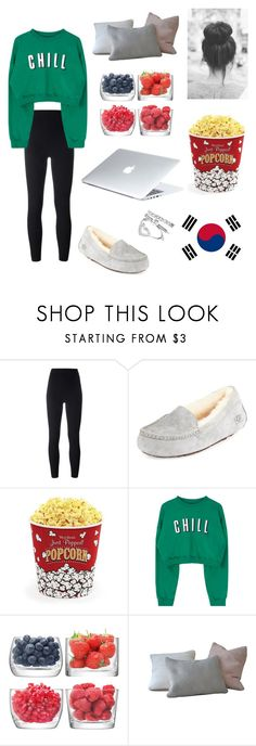 """watching kdrama💞"" by fangirlscansmd ❤ liked on Polyvore featuring adidas Originals, Dyson, UGG, West Bend and LSA International"