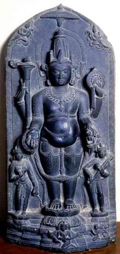 sculpture of Vamana, Dhaka Museum Indian Gods, Indian Art, Buddha Life, Digital Art Fantasy, Indian Temple, Indian Architecture, Lord Vishnu, Greek Art, Births