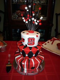NC State by Cake- love this! Maybe smaller for my Hunny's bday?