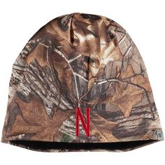 5c7bca55 Men's Top of the World Camo Nebraska Cornhuskers Forage Realtree Xtra Beanie