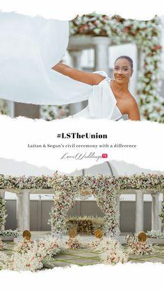 Civil Ceremony, Wedding Ceremony, Civil Wedding, Unique Dresses, Civilization, Real Weddings, Traditional, Table Decorations, Wedding Dresses