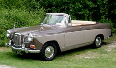 1966 Wolseley 16/60 Very Rare Convertible Special Conversion 1.6L 4-cyl BMC B-Series Engine